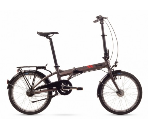Bicicleta pliabila Romet Wigry 7 11 Gri 2016
