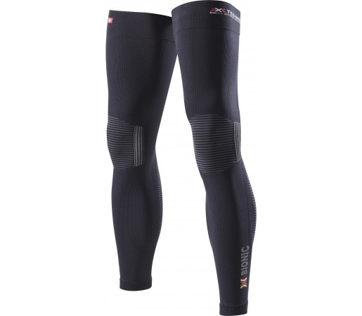 Incalzitoare picioare X-Bionic Biking OW Leg Warmer DX/SX No Seam Black