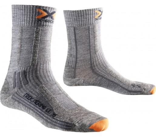 Sosete X-Socks Trekking Merino Light Mid Lady Black