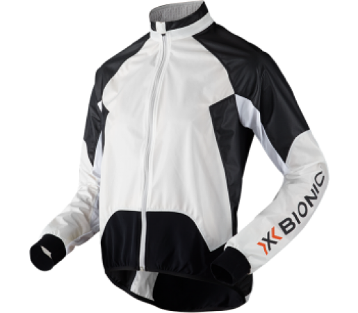 Geaca X-Bionic Biking Lady Spherewind UPD OW Black/White