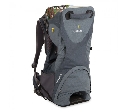 Rucsac transport copii Cross Country S3 Premium Little Life Gri