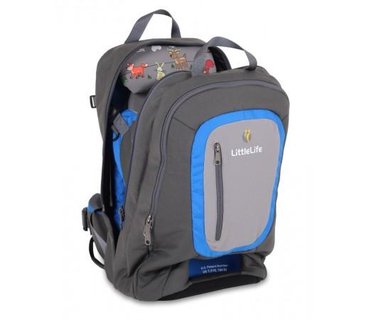 Rucsac transport copii Ultralight Convertible S3 Little Life Gri/Albastru