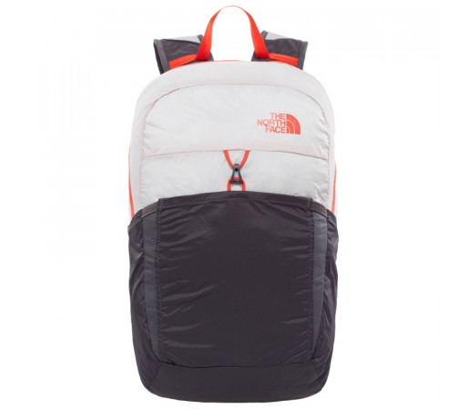 Rucsac The North Face Flyweight Gri/Rosu
