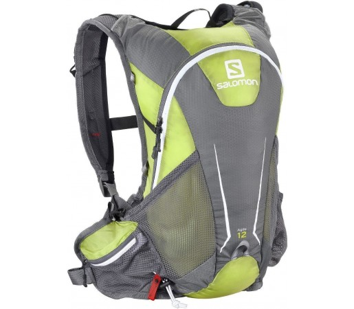 Rucsac alergare Salomon Agile 12 Set Green 2013