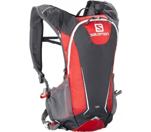 Rucsac alergare Salomon Agile 7 Set Red