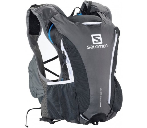 Rucsac alergare Salomon Skin Pro 10 + 3 Set Grey 2013