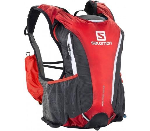 Rucsac alergare Salomon Skin Pro 10 + 3 Set Red 2013