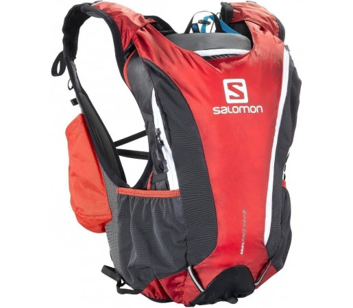 Rucsac alergare Salomon Skin Pro 14 + 3 Set Red 2013