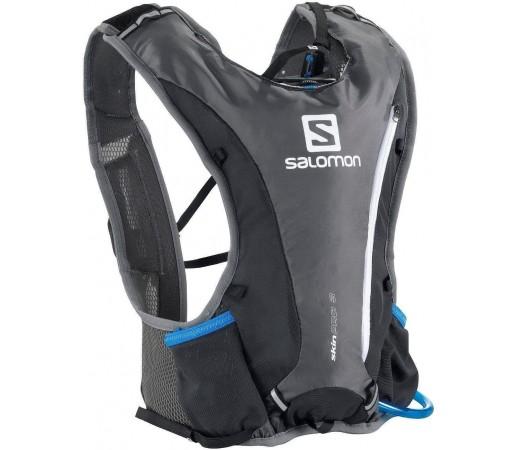 Rucsac alergare Salomon Skin Pro 3 Set Grey 2013