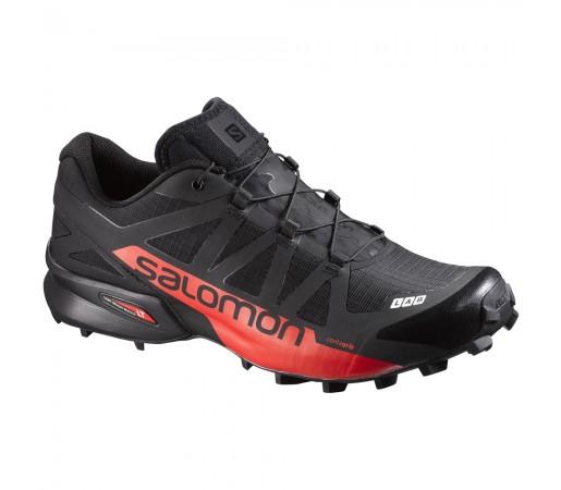 Incaltaminte alergare Salomon S-Lab Speedcross Negru/ Rosu