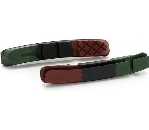 Rezerve saboti de frana Xlc RP-V01 Green- Red- Black