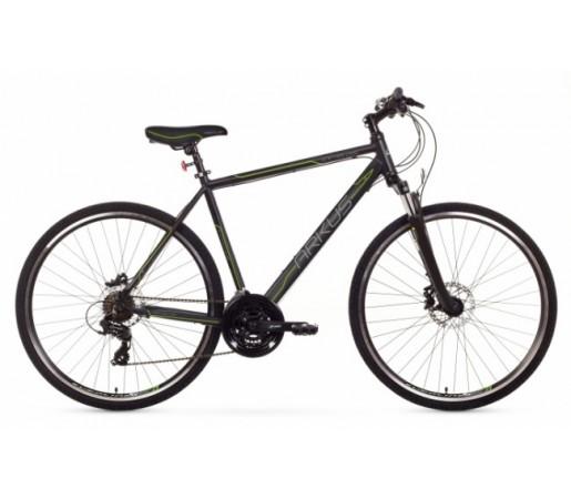 Bicicleta trekking Arkus Safari M Disc Negru/Verde 2016