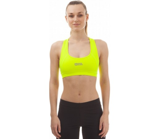 Bustiera Nordblanc Fixed Ladie's Dryfor Fitness Galben