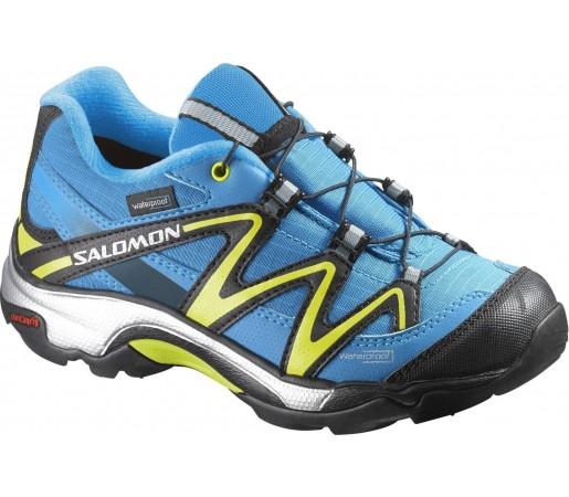 Incaltaminte de alergare Salomon XT Wings Wp K Albastru/Galben