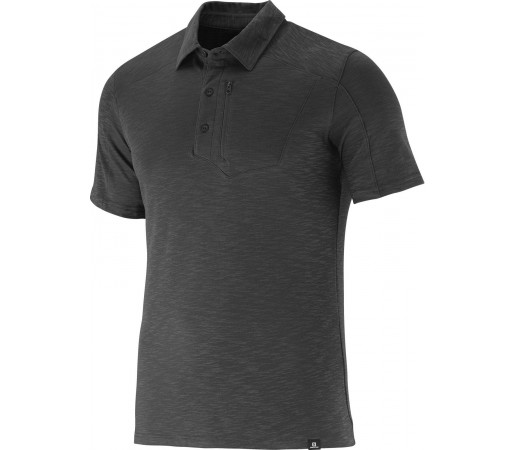Tricou Salomon Mountain Polo 2 Negru