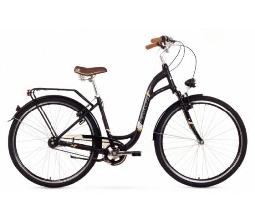 Bicicleta oras Arkus Samanta 28 Lux Neagra 2016