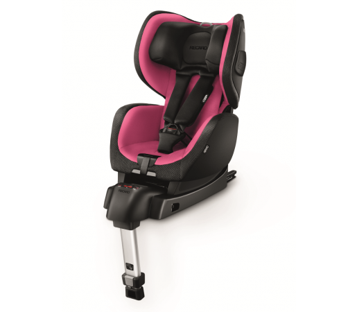Scaun auto copii cu Isofix Recaro Optiafix Roz