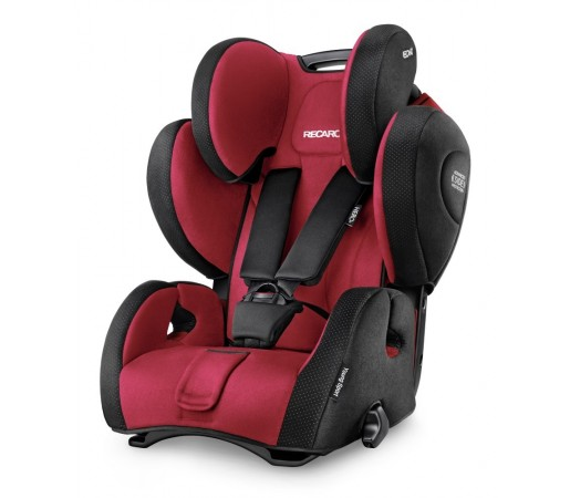 Scaun auto copii fara Isofix Recaro Young Sport Hero Rosu