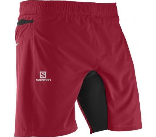 Pantaloni scurti Salomon M Fast Wing Tw Rosii