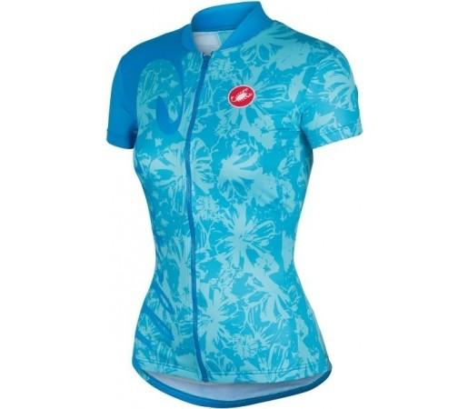 Tricou ciclism Castelli Sentimento Albastru