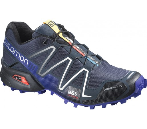 Incaltaminte alergare Salomon Speedcross 3 CS Albastru/Negru