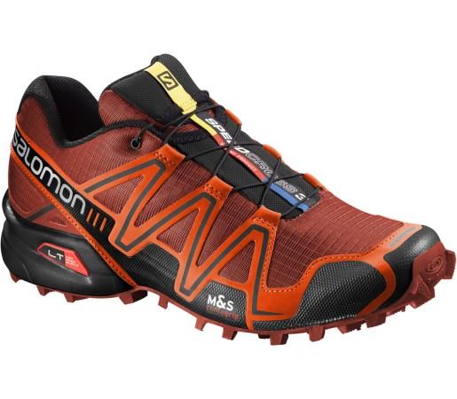Incaltaminte alergare Salomon Speedcross 3 Rosu/Negru
