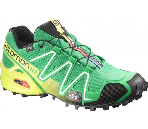 Incaltaminte alergare Salomon Speedcross 3 GTX Verde/Negru