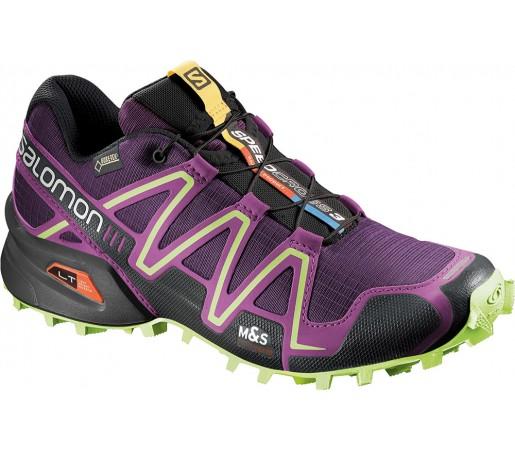 Incaltaminte alergare Salomon Speedcross 3 GTX W Violet/Verde