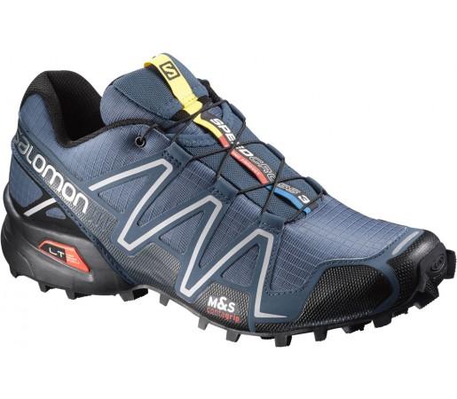Incaltaminte alergare Salomon Speedcross 3 Albastru/Gri/Negru