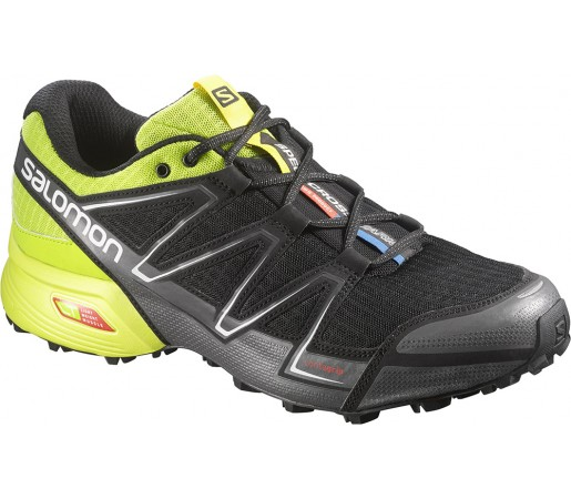 Incaltaminte alergare Salomon Speedcross Vario Negru/Verde/Gri