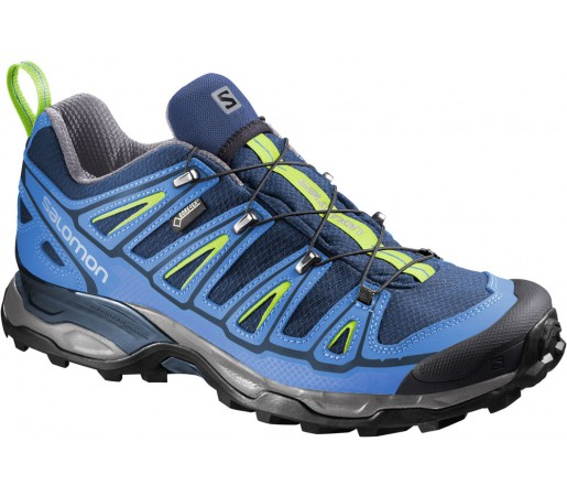 Incaltaminte hiking Salomon X Ultra 2 GTX Albastru/Verde