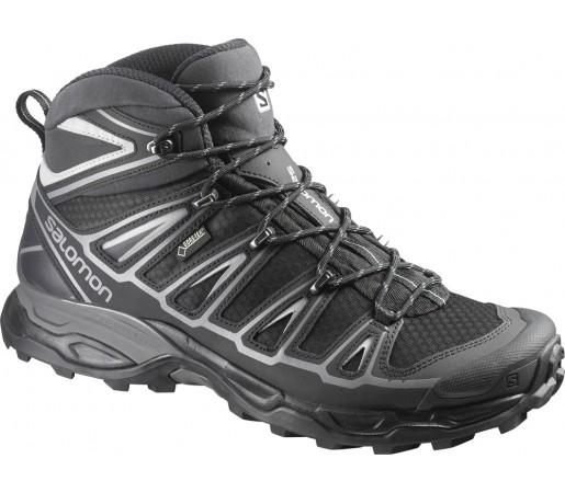 Incaltaminte hiking Salomon X Ultra Mid 2 GTX Negru/Gri