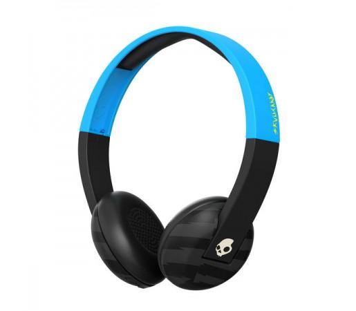 Casti audio Skullcandy Uproar Wireless Negre/ Albastre/ Gri