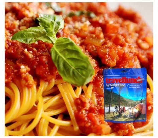 Aliment Travellunch Spaghetti Bolognese