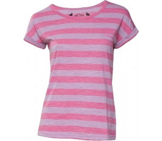 Tricou Fundango Tara Stripe Roz