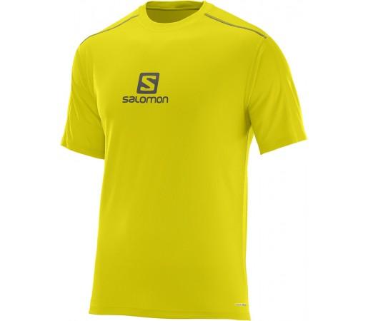 Tricou Salomon Stroll Logo SS Tee M Galben