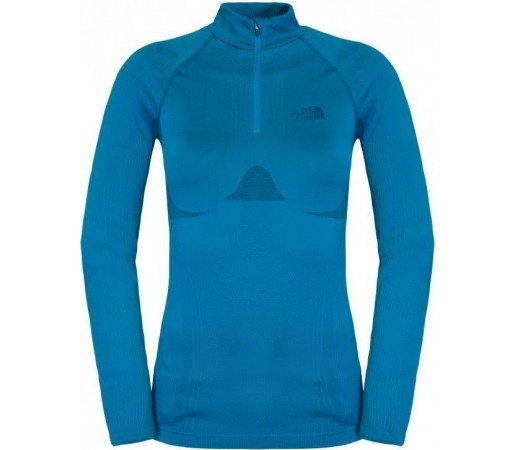 First Layer The North Face Hybrid 1/4 W Blue