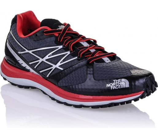 Incaltaminte The North Face Ultra Trail Grey- Red