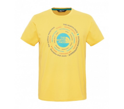 Tricou The North Face M Tehnical Expedition Galben