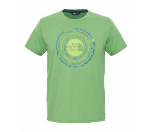 Tricou The North Face M Tehnical Expedition Verde