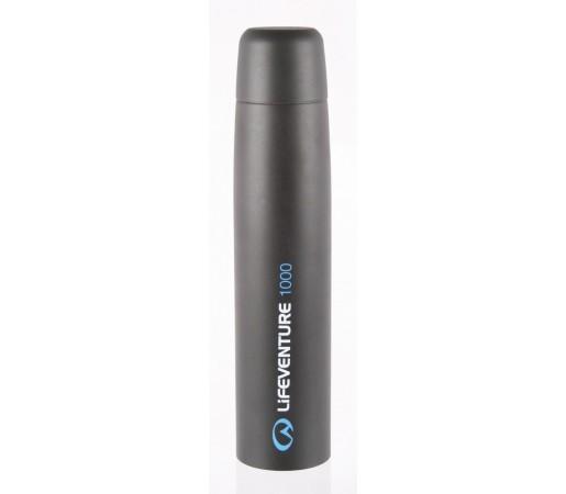 Termos cu vacuum 1000 ml Lifeventure Gri/Albastru