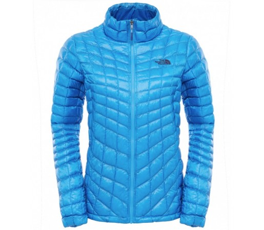 Geaca The North Face W Thermoball Full Zip Albastra