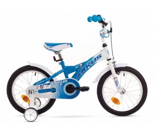 Bicicleta copii Arkus Tola 16 Y Alb/Albastru 2016