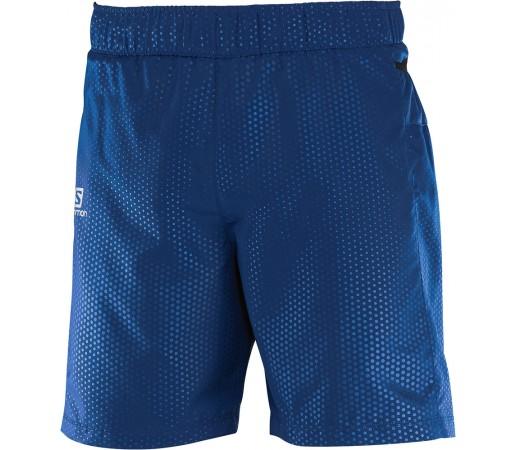 Pantaloni scurti Salomon Trail Runner M Albastru Inchis