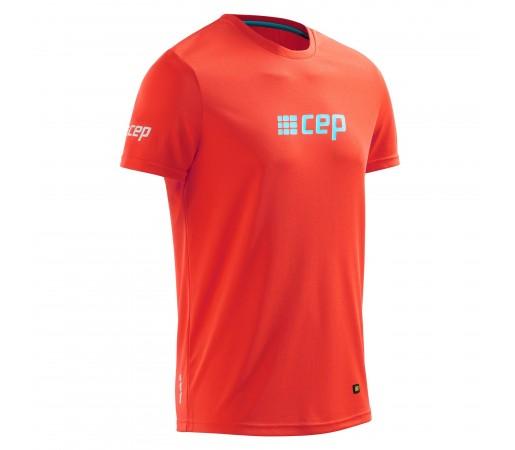 Tricou CEP Brand Run M Portocaliu / Albastru
