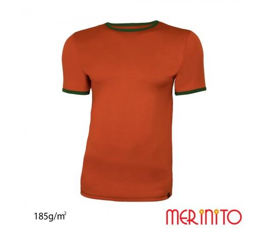 Tricou Barbati Merinito Lava/ Verde
