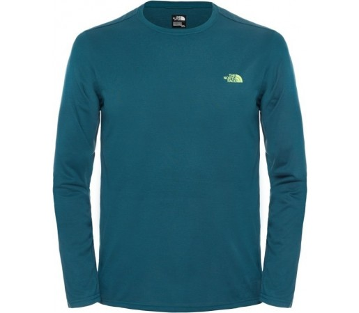 Tricou The North Face M Reaxion Crew L/S Verde