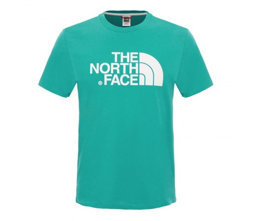 Tricou The North Face M S/S Easy Verde/Alb