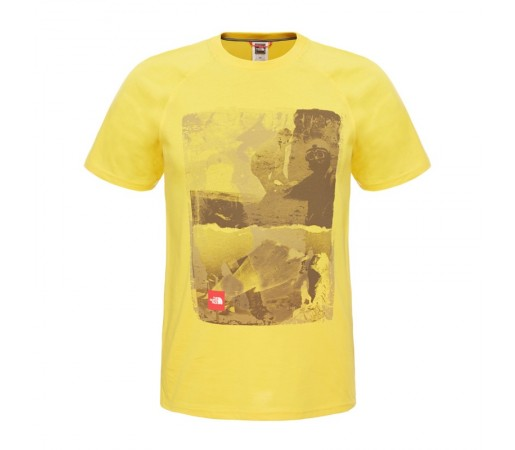 Tricou The North Face M S/S History Galben