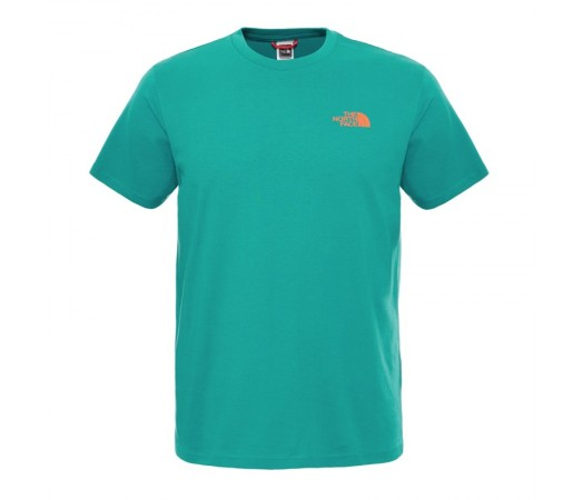 Tricou The North Face M S/S Redbox Verde